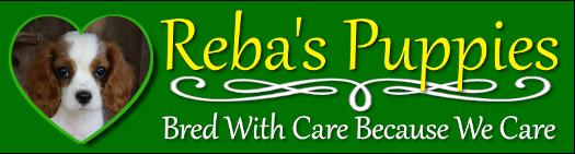 Reba's Puppies web logo